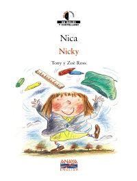 """El primer día de escuela puede dar un poco de miedo. Nos lo cuenta Tony Ross en """"Nica / Nicky"""""""