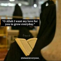 "14.9k Likes, 161 Comments - ISLAM IS PERFECT (@islam4everyone_) on Instagram: ""O Allah I want my love for you to grow everyday AMEEN."""