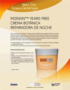 Crema Botánica Reparadora de Noche - Moiskin