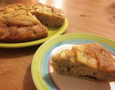 La #colazione al #miele buonissima è con farina integrale e banane: ecco la upside down #cake preparata per #Mielizia da Roberta di Bake Off 4 #apicoltori #api #mieleitaliano