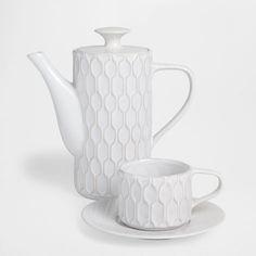 RAISED DESIGN STONEWARE SET - Coffee & Tea - Tableware | Zara Home United States