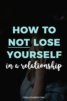 Are you afraid to fall in love and lose your individuality? Here are the warning signs and strategies to help you NOT lose yourself in a relationship. Relationship Problems, Relationship Advice, Marriage Advice, Toxic Relationships, Healthy Relationships, Ways To Destress, Me Time, Self Compassion, Self Love Quotes