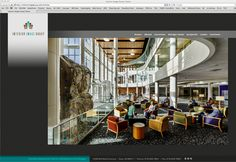 Interior Image Group Web site w/ Content Mgmt System by Burick Communication Design, via Behance