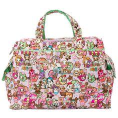 Ju-Ju-Be x tokidoki Donutella's Sweet Shop Be Prepared! (Back) ~ $188