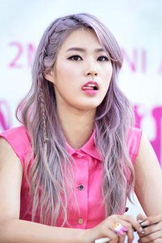 Épinglé sur Kpop Hairstyle♥