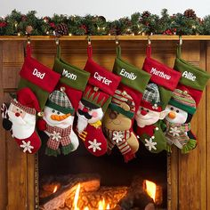 Create Personalized Christmas Stockings with Personal Creations. Get fast shipping and free personalization on each and every gift! Embroidered Christmas Stockings, Christmas Stocking Pattern, Xmas Stockings, Christmas Stockings With Names, Family Christmas Gifts, Felt Christmas, Christmas Crafts, Christmas Ornaments, Holiday Gifts