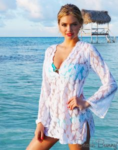Beach Bunny Tunic. Wish I could look this good in it!
