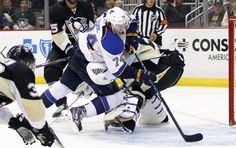 T.J. Oshie Photos: St Louis Blues v Pittsburgh Penguins