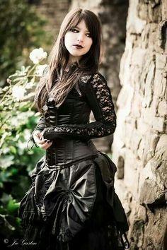 neo victorian gothic fashion - Google Search