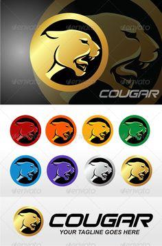Cougar by herulogo Resizable Vector EPS, Ai, CDRvertical and horizontal layout readyColor customizable Fully editableStandard font name : BITSUMISHI Logo Design Template, Logo Templates, Crossfit Logo, Panther Logo, F2 Savannah Cat, Mountain Logos, Ecommerce Logo, Wolf Design, Animal Logo