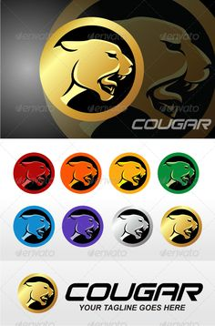 Realistic Graphic DOWNLOAD (.ai, .psd) :: http://vector-graphic.de/pinterest-itmid-1006808835i.html ... Cougar ...  cat, cougar, cougar head, mountain lion, panther, puma, sport, t-shirt  ... Realistic Photo Graphic Print Obejct Business Web Elements Illustration Design Templates ... DOWNLOAD :: http://vector-graphic.de/pinterest-itmid-1006808835i.html