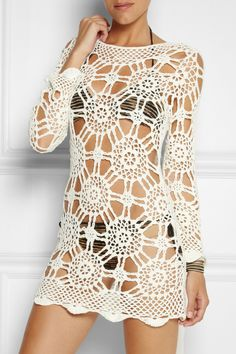 Lisa Maree | Sixty Six crocheted beach dress      ♪ ♪ ... #inspiration #diy GB http://www.pinterest.com/gigibrazil/boards/