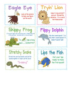This is a word identification strategy card that can be distributed to students in the beginning of the year (once the strategies have been taught) this would act as a great reminder for students for when they come across unknown words.