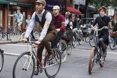 Unabashedly Prep - The Rugby Tweed Run 2011