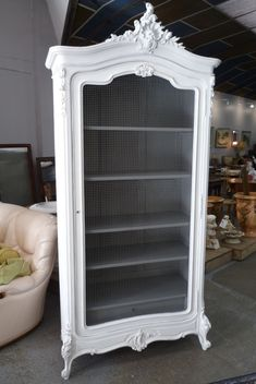 Annie Sloan Old White Armoire