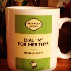 "Dial ""M"" For Merthyr mug"