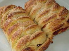 Imagem da receita Pão recheado com goiabada