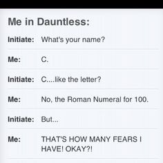 I would never join Dauntless but if I did, this would be me hahaha. :D