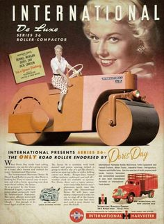 When Doris Day needs road rolling equipment, you can bet she's going to turn to a name she's known & trusted for years…