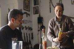 Olive oil tasting in Montilla familiar farm, Andalucia.