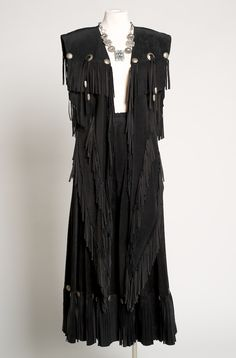 Elegant+Black+Suede+Long+Vest+and+Gaucho+Outfit1001-16+(6+weeks+to+ship)