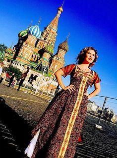 #Style #Пелагея #Dress #Ethno #ДеньРоссии