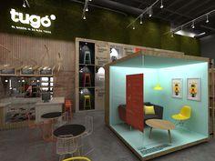 Propuesta de diseño de tiendas y sistema de exhibición desarrollada entre PLASMA y MASIF para una importante marca Colombiana.