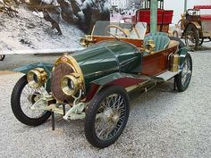 Bugatti T17 from 1914. Bugatti ran several different models side by side developing engines and bodywork for each one of them.