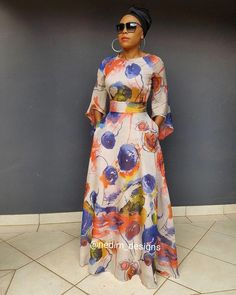 Cute Dresses- Picture Ideas – Ideas for all Dresses & Outfits for All Ocassions African Maxi Dresses, African Attire, African Wear, African Traditional Dresses, Dress Outfits, Fashion Outfits, Look Fashion, Fashion Design, African Print Fashion