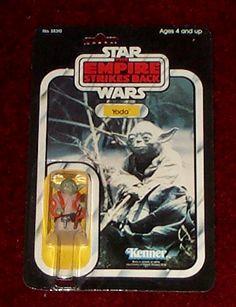 Kenner Empire Strikes Back Action Figure - Yoda