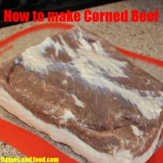 Making Corned Beef is so easy to make it is stupid! You can control the inputs and pick the grade of the beef, no more nasty stuff from the supermarket. Read more and I will show you how to make corned beef at home!