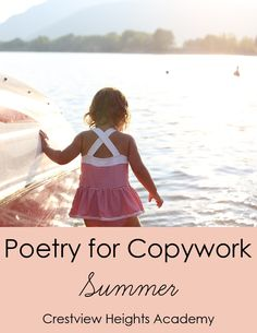 Poetry for Copywork: Summer - Crestview Heights Academy | Language | Copywork | CurrClick