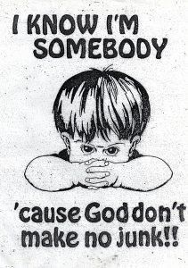 I remember this poster from my Sunday School Class when I was a little girl!!! Still true and still makes me grin!