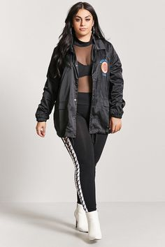 ce1a5f4eb1c Forever 21. Product Name Plus Size Worldwide Tour Jacket ...