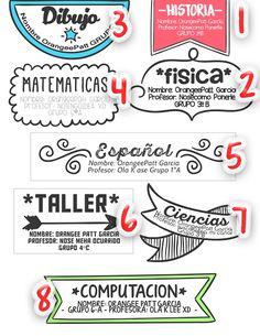 96 Stickers / Etiquetas Autoadhesivas Para Útiles ...