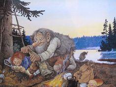 Emma Hill: Troll Illustrations by Rolf Lidberg.