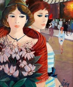 French painter Charles Levier (1920-2003)