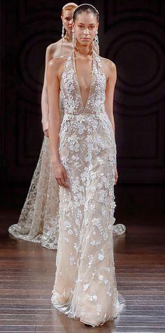 The Prettiest Spring 2017 Wedding Dresses from Bridal Fashion Week | InStyle.com NAEEM KHAN