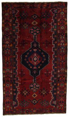 """Lori - Bakhtiari Persian Carpet 9'10""""x5'7"""" $690"""