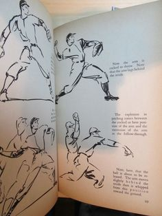 Baseball Techniques Illustrated, by Ethan Allen, illustrated by Tyler - Sperry Good Emporium page 68, 69