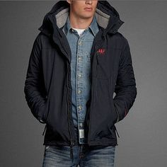 Abercrombie & Fitch ジャケットその他 インナーがはずせる お勧めNorthside Trail Jacket  3in1(3)