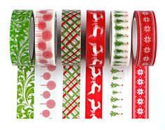 Hey, I found this really awesome Etsy listing at https://www.etsy.com/listing/248368328/new-christmas-washi-tape-set-with-gift