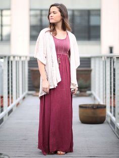 Altar'd State Faded Shades Maxi Dress