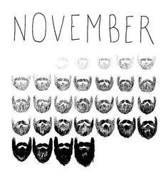 Movember. So it begins ... let your mo grow!
