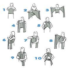 ¿Cómo colocar un fular portabebés? ~ Blog TODOJUGUETE