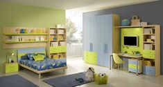 See carefully at the most creative boy's bedroom ideas showcased below before you choose a specific bedroom decor for your child.