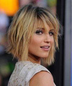 Short & blond hair