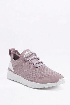 "release date 3836e 791e2 adidas Originals – Sneaker ""ZX Flux ADV Verve"" in Mauve – Damen 34 Angesagte"