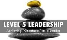 رهبری سطح پنجم چیست؟