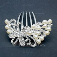 Exquisite Alloy Hair Combs (042026827)